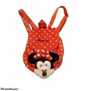 🌺 3/25 Disney Minnie Mouse backpack